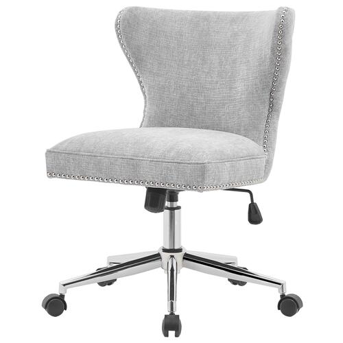 Hazel KD Fabric Office Chair, Smash Gray