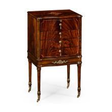 Mahogany Jewellery Collectors Cabinet