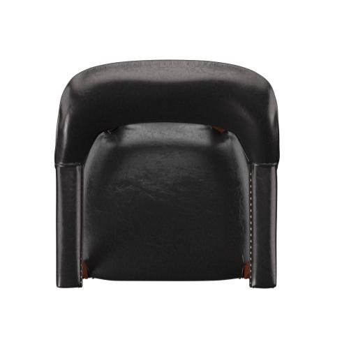 Tournament Arm Chair w/Casters, Black