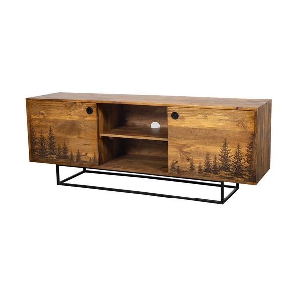 See Details - COMING SOON, PRE-ORDER NOW! Cascade Tree TV Stand, 55549