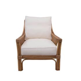 Occassional Chair, Available in Classic Natural Finish Only.