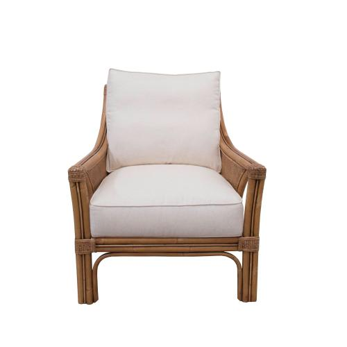 Capris Furniture - Occassional Chair, Classic Natural Finish.