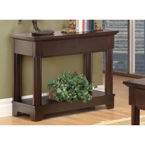 Hudson Valley Sofa Table With 2 Drawers With Shelf