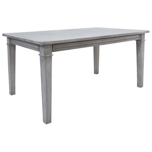 Table, Available in Distressed White or Distressed Grey Finish.