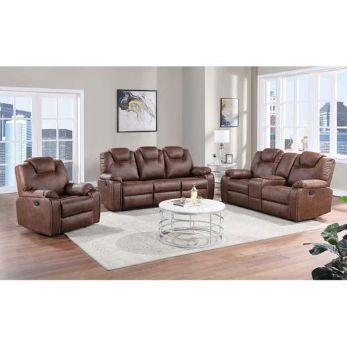 Dorado Brown Reclining Sofa, Loveseat & Chair, M9731