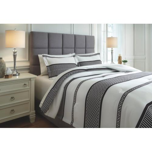Masako 3-piece Queen Comforter Set