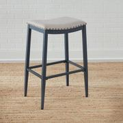 Backless Uph Barstool- Navy Product Image