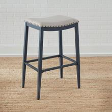Backless Uph Barstool- Navy