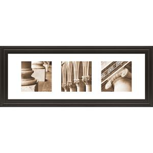 """Architectural Triptych I"" By Tony Koukos Framed Print Wall Art"