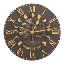 Times & Seasons Clock - French Bronze