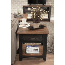 END TABLE - Black & Honey Tobacco