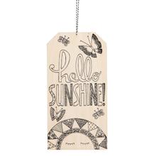 "See Details - ""Hello Sunshine"" Tag."