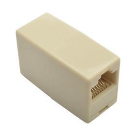 Telephone Straight-Through Modular In-Line Coupler (RJ45 F/F), 10 Pack