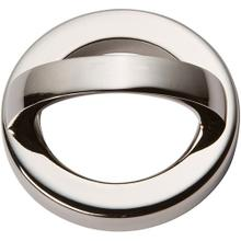 Tableau Round Base and Top 1 13/16 Inch (c-c) - Polished Nickel