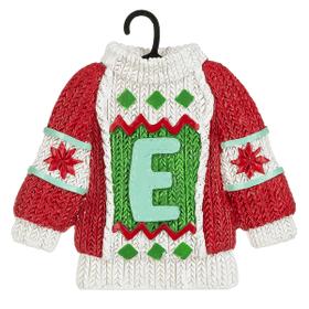 Sweater Ornament - E