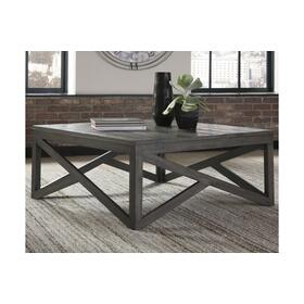 Haroflyn Square Cocktail Table Gray