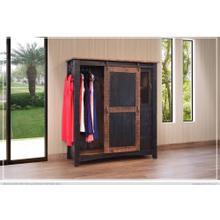 View Product - 3 Drawer, 1 Sliding door, 1 Mesh door Gentleman's Chest