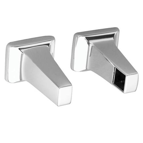 Contemporary chrome mounting posts