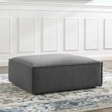 Restore Ottoman in Charcoal