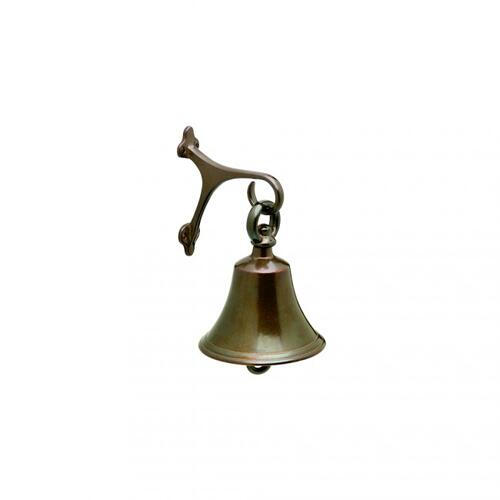 Small Bell - B6 White Bronze Light
