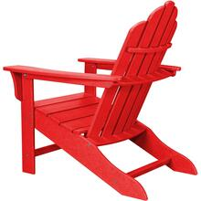 Hanover All-Weather Contoured Adirondack Chair - Sunset Red, HVLNA10SR