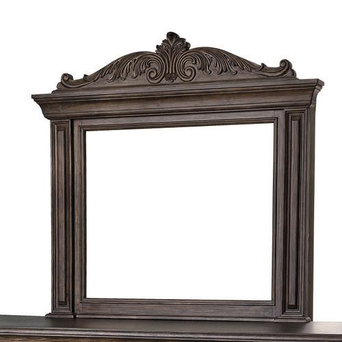 Pulaski Furniture - Bedford Heights Dresser Mirror in Estate Brown