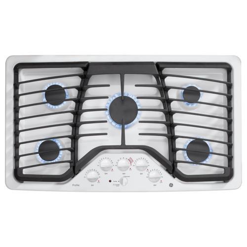 """DISPLAY MODEL GE Profile™ Series 36"""" Built-In Gas Cooktop"""