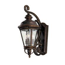 Castle Medium Lantern Grecian Bronze