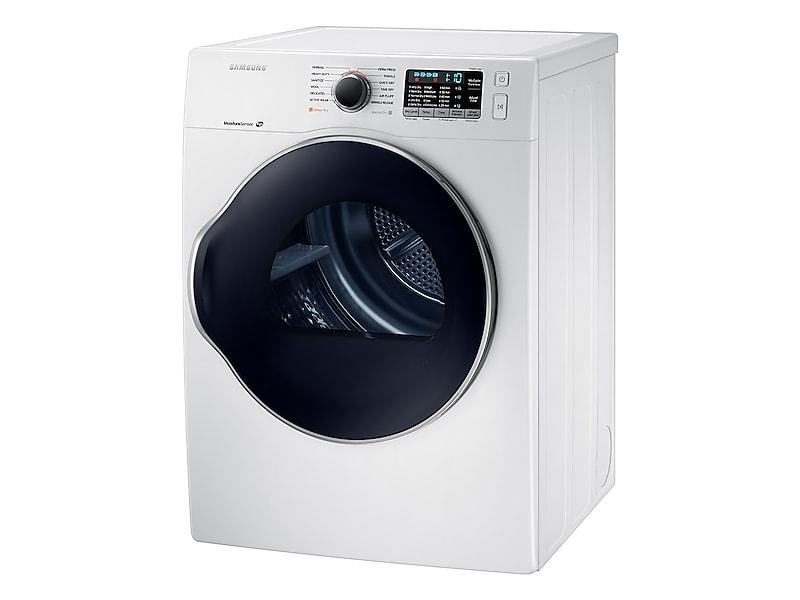 4.0 cu. ft. Electric Dryer in White Photo #3