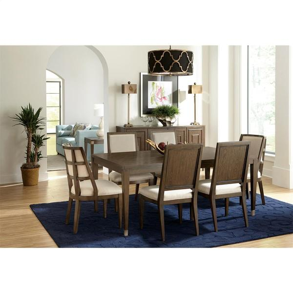 See Details - Monterey - Upholstered Side Chair - Mink Finish