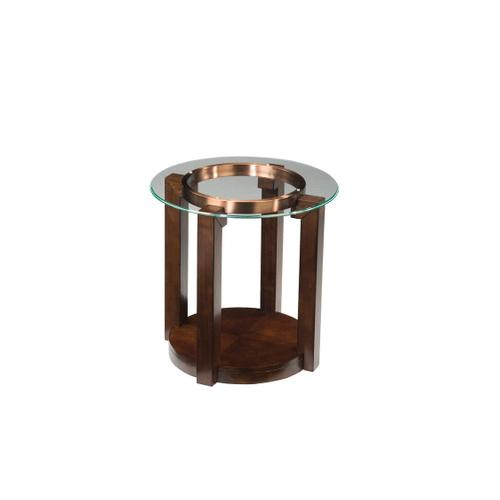 Standard Furniture - Coronado End Table with Casters, Brown