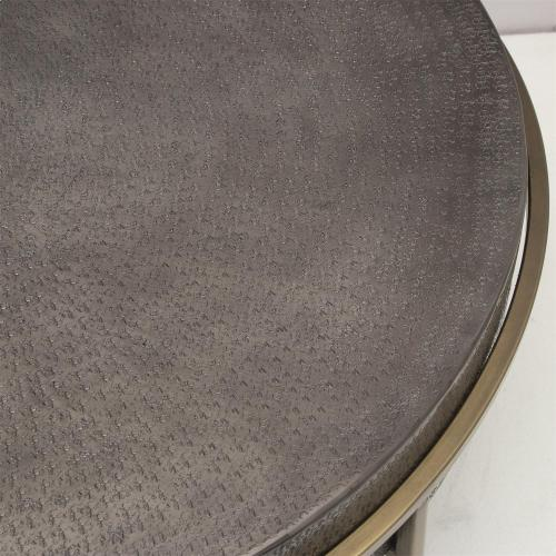 Round Coffee Table - Onyx Finish