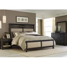View Product - Queen Panel Bed, Dresser & Mirror, NS