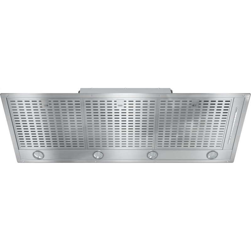 DA 2518 - Insert ventilation hood with energy-efficient LED lighting and backlit controls for easy use.