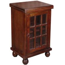 Cottage End Table - Rich Mahogany