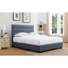 Delton Platform Bed - Queen, Blue