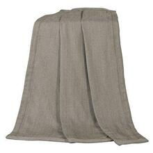 Fairfield Herringbone Taupe Throw Blanket