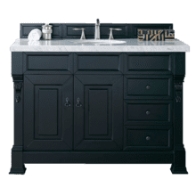 "View Product - Brookfield 48"" Single Bathroom Vanity-Antique Black"