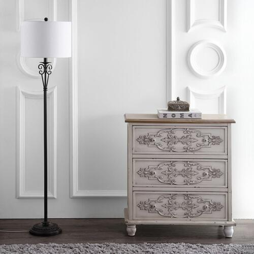Tarri Floor Lamp - Antique Brass