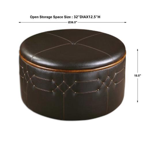 Brunner Storage Ottoman