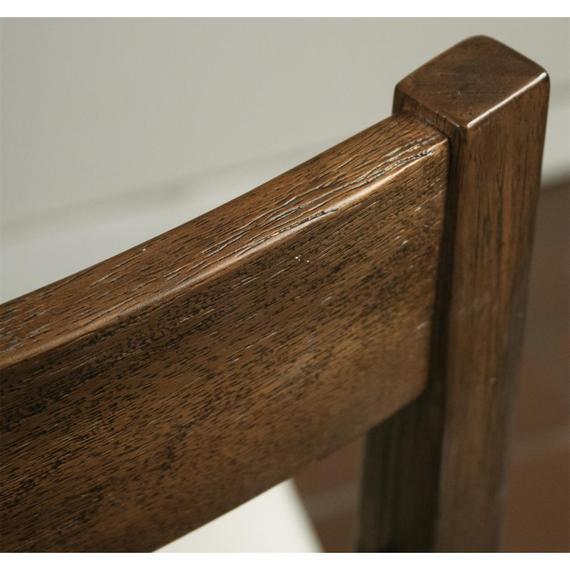 Riverside - Perspectives - Wood Back Upholstered Desk Chair - Brushed Acacia Finish