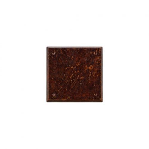 Square Escutcheon - E403 Silicon Bronze Brushed