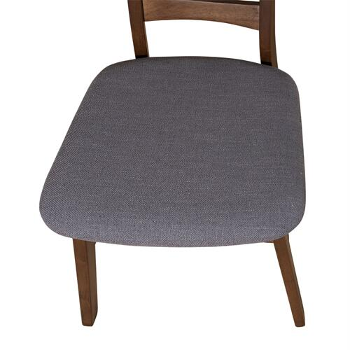 Panel Back Side Chair- Grey (RTA)