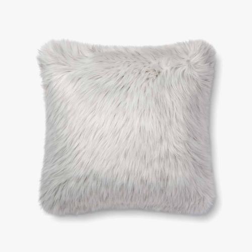 P0685 White / Grey Pillow