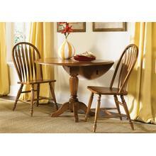 View Product - Drop Leaf Pedestal Table