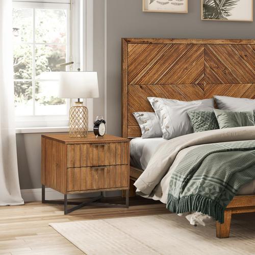 Pulaski Furniture - Modern Nightstand - Brown