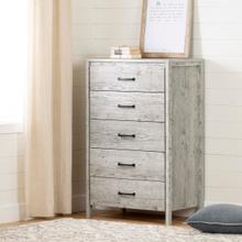 Gravity - 5-Drawer Chest, Seaside Pine