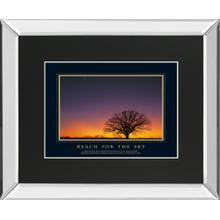 """Reach For The Sky"" By Adam Brock Mirror Framed Print Wall Art"