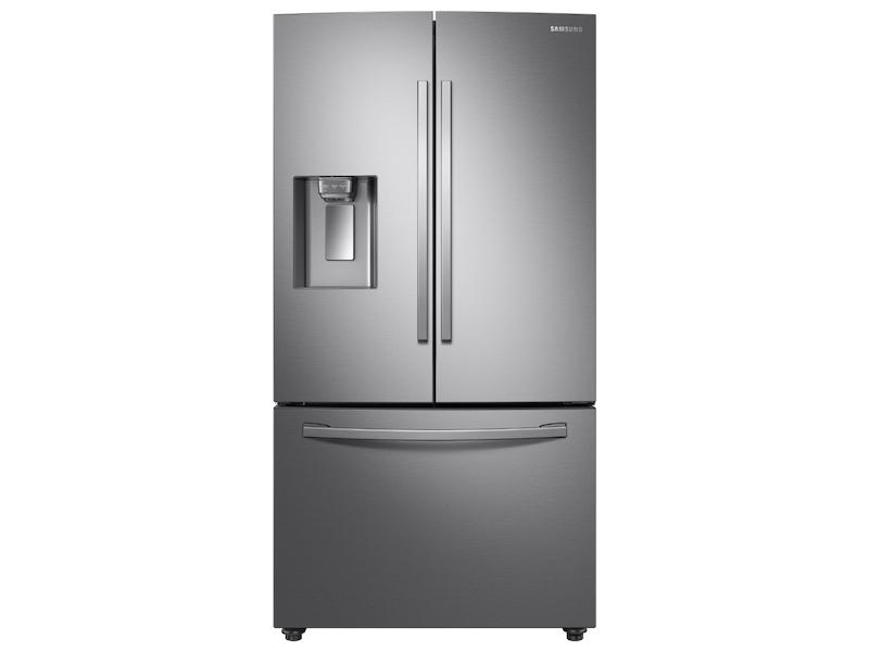 28 cu. ft. 3-Door French Door Refrigerator with AutoFill Water Pitcher in Stainless Steel