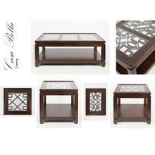 Casa Bella End Table- Cherry